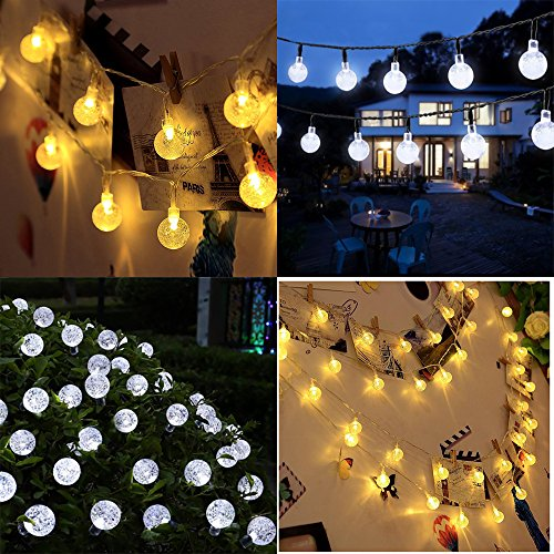OxyLED Solar String Lights, (20F...