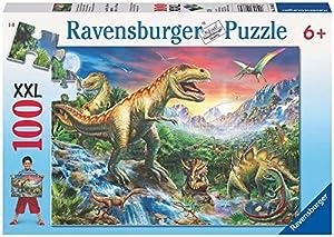 Ravensburger - Puzzle con diseño de Dinosaurios, 100 Piezas (10665 3)