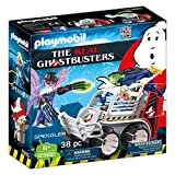 Playmobil- The Real Ghostbusters Giocattolo Spengler con Veicolo Acchiappafantasmi, Multicolore, 9386