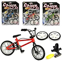 Bicicleta de dedo, Juguetes de metal en miniatura Deportes extremos Finger Cycling Mountain Bike Juegos