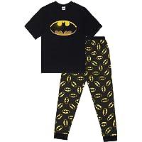 Plus Size Men's Batman Character Cotton Pyjamas Sizes S to 5XL