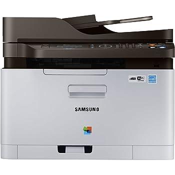Samsung SL-C480FW Multifunzione a colori, con toner incluso, Bianco