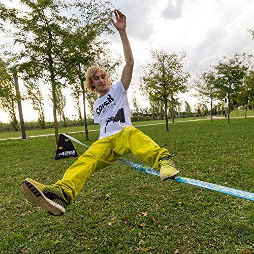 SPIDER SLACKLINES TRAINING line 18m klettern jonglieren - 15