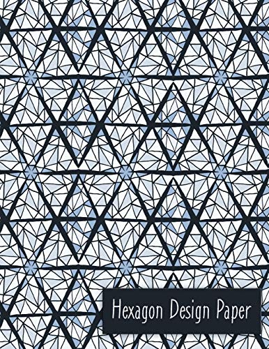 Hexagon Design Paper: English Paper Piecing -