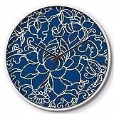 ZGSR-F Wanduhr Wohnzimmer Hochwertige Kunst Uhr 30 cm, C
