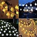 Solar String Lichter, OxyLED 30 LED Garten Terrasse au?erhalb Lichterketten, wasserdichte Indoor/Outdoor Lichterketten, gro?e Garten Terrasse Terrasse au?erhalb Xmas Lichter