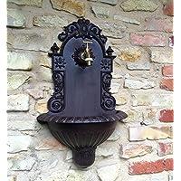 Antikas - lavamanos de pared jardín - fuente de pared jardín - lavamanos con conexión manguera