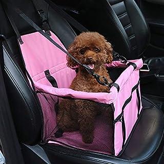 Caidi Atmungsaktiv für Haustiere, Wasserdicht, für Auto, Safety Autofuß, Sicherheitsgurt, Schutzhülle Booster Transporttasche für Autositz, Reisekissen