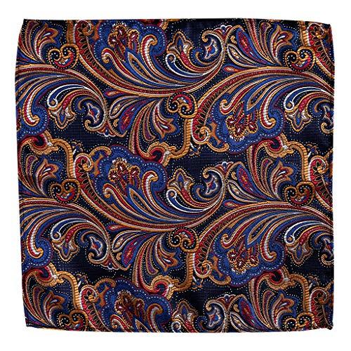 Kofun Sciarpa delle Donne Fazzoletto da Taschino Vintage da Uomo Tovagliolo Fazzoletto da Taschino Un