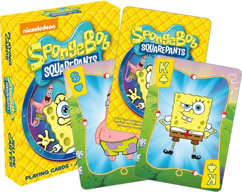 NM Aquarius Spongebob Square pants Juego de cartas