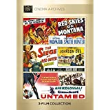 Red Skies Of Montana; Siege At Red River; Untamed by Richard Widmark