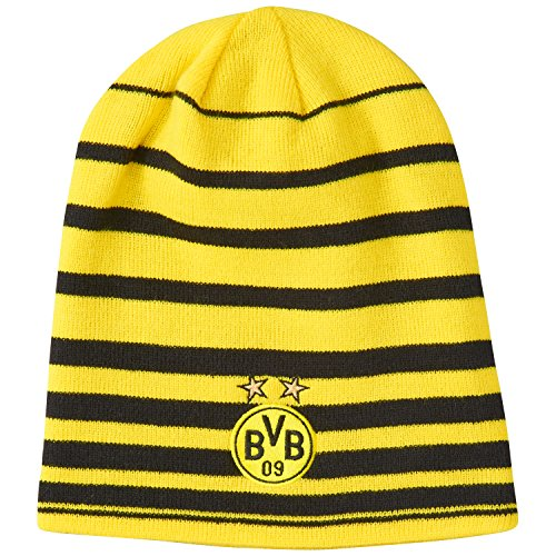 Puma Mütze BVB Performance Beanie Cyber Yellow-Black, One Size -
