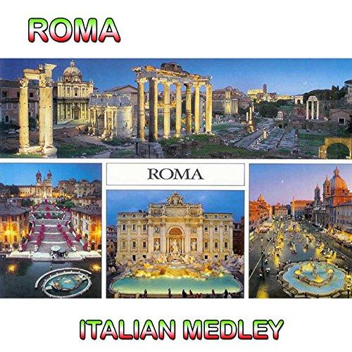 Roma, Italian Medley 1: Anema e core / O mama mama / Oho Aha / Arsura / Mambo Bacan / Tipitipitipso / Mamma / Te voglio bene / Come Giuda / Chella llà / Perché tu non vuoi / Torna a Surriento / Volare / Che m'e 'mparato a fa / Arrivederci Roma / Come prim (1 Arrivederci)