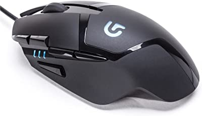 Logitech G402 Hyperion Fury Ultra Fast FPS Gaming Mouse (Black)