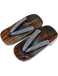 TopIn Unisex Japan International Holz Geta Schuhe Beiläufig Clogs Sandalen 7PvXvgb5
