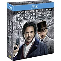 Sherlock Holmes + Sherlock Holmes 2 : Jeu d'Ombres - Coffret Blu-Ray
