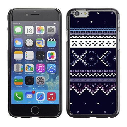 Graphic4You BLACK WHITE MAZE Muster Harte Hülle Case Tasche Schutzhülle für Apple iPhone 6 / 6S Design #12