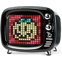 Divoom Tivoo Classic Retro Bluetooth-Lautsprecher mit 6 W Audio, programmierbarer LED-Bildschirm, gesteuert von der…