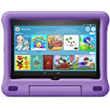"""Fire HD 8 Kids tablet   for ages 3-7   8"""" HD display, 32 GB   Purple Kid-Proof Case"""