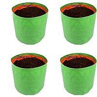 Smart Garden Grow Bags - 18x18 Inches, 4 Pcs