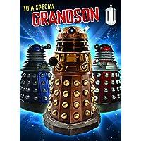 "Doctor Who ""Grandson"" Birthday Card"
