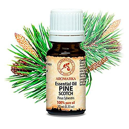 Kiefernadel Öl (Pine Scotch) 100{ce6debc58a1ff328bf4a85c22e6d44beb5c5515fe7dcc334d3cb326183bb250c} Naturreines Ätherisches Kieferöl 10ml - Kiefernnadeln - Pinus Sylvestris - Austria - Frischer Nadelduft - Kiefernnadelöl Gut Für Sauna - Beauty - Wellness - Aromatherapie - Aroma Diffuser - Kiefernöl - Reines & Natürliches Kiefernadelöl