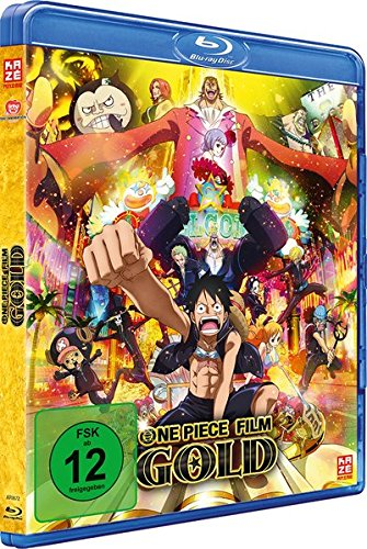 One Piece - 12. Film: Gold [Blu-ray] (Neusten Dvd-film Die)