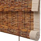 JU FU Rollo Bambus Vorhang - Hochwertige Reed Heben Dekoration Rollo Retro Wasserdicht und Mehltau ökologische Sonnenschirm Partition Vorhang 3 Farben - Mehrere Größen @