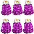 1 Dutzend Cheerleading Pompons, CRIVERS 12pc Cheerleader Pompoms für Ball Tanzen Schick Kleid Nacht Party Sports