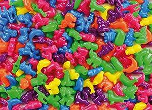 Playbox - Granos plásticos (Grandes Animales) - 250 pcs - (PBX2470722)