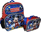 """Best Ruz Lunch Boxes - Group Ruz Disney Mickey Mouse 16"""" Backpack With Review"""