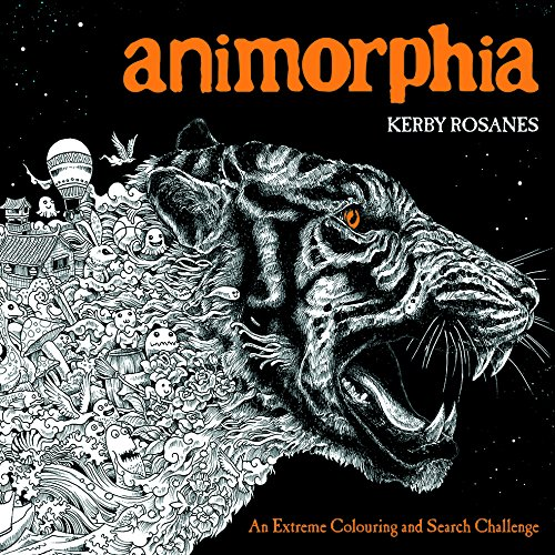Animorphia: An Extreme Colouring and Search Challenge par Kerby Rosanes