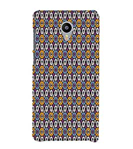 Fuson Designer Back Case Cover for Meizu M3 Note :: Meizu Note 3 ( Ethnic Pattern Patterns Floral Decorative Abstact Love Lovely Beauty )