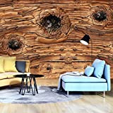 FORWALL Fototapete Tapete Holzbrett P8 (368cm. x 254cm.) Photo Wallpaper Mural AMF12065P8 Gratis Wandaufkleber Holz Brett Planke Holzoptik Holzwand Bretter