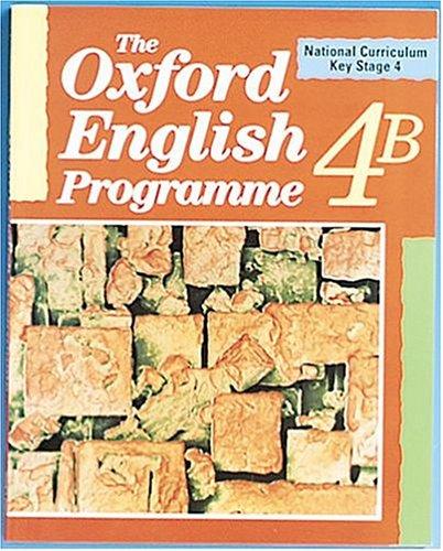 The oxford english programme 4B