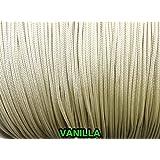 9,1m: 2,0mm Vanille Traverse Cordon pour stores verticaux et Draperies