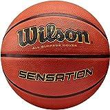 Onlysportsgear Sport Wilson Sensation Basketball Ball - Größe 5-7 - BLAU/ORANGEFARBEN, Size 6