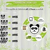 CareElite Bambus Zahnbürste - Umweltfreundlich für gesunde und weiße Zähne