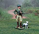 WWII US Army General George Patton with Willy 1/32, used for sale  Delivered anywhere in UK