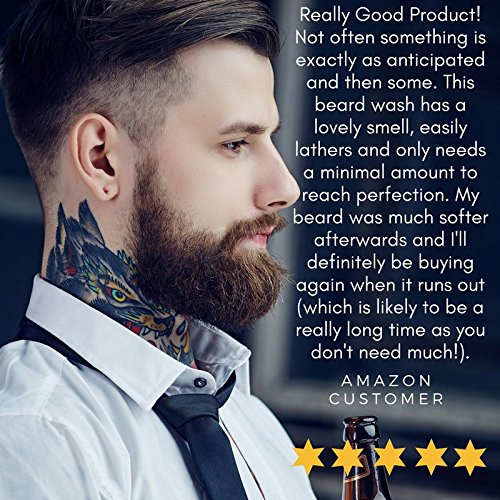 Modern-Day-Duke-Luxurious-Beard-Wash-XL-200ml-Beard-Wash-Shampoo-containing-Aloe-Cedarwood-and-Lime-Promotes-Healthy-Growth-for-a-Clean-Soft-Full-Beard