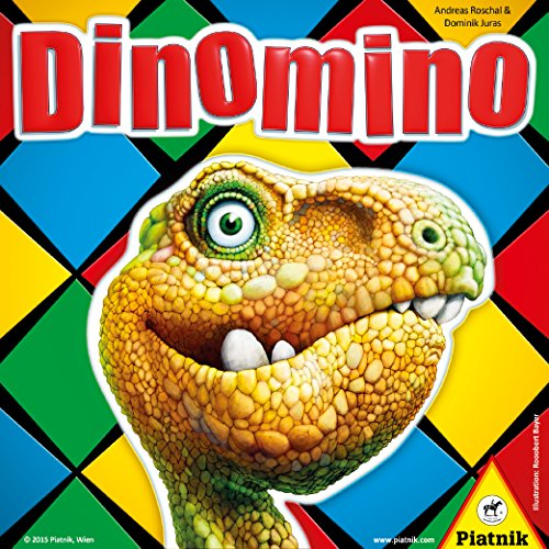 Piatnik 6344 - Dinomino, Brettspiele