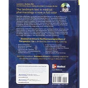 Goodman & Gilman's. The pharmacological basis of therapy (Medicina)