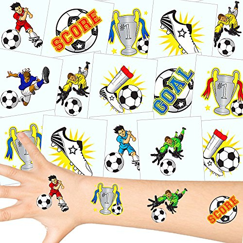 - Fußball Tattoos Set ┃ NEU ┃ Fußball Party ┃ Kindergeburtstag ┃ Mitgebsel ┃36 Tattoos (Halloween-club-party In London)