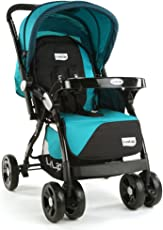 LuvLap Galaxy Stroller Pram (Green/Black)