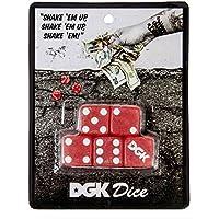 DGK Men's Shake 'Em Up Dice Red