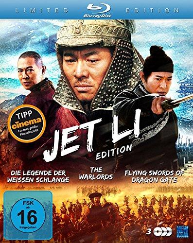 Bild von Jet Li Edition (Die Legende der Weißen Schlange / The Warlords / Flying Swords of Dragon Gate) (3 Blu-rays) [Blu-ray] [Collector's Edition]