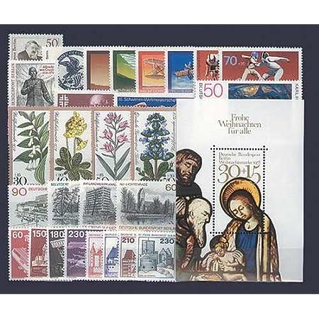 Goldhahn Berlin postfrisch Jahrgang 1978 komplett Briefmarken für Sammler