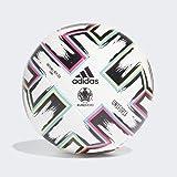 Adidas Unifo Lge heren-voetbal, wit/zwart/signaalgroen/helder cyaan, 5