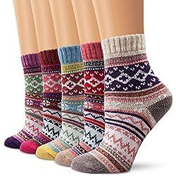 Lindo calcetines de la historieta, Moliker calcetines térmicos varios diseños / colores Adulto Unisex Calcetines (Calcetines de invierno-003)