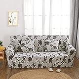 FORCHEER Sofabezug elastische Sofahusse Sesselbezug Stretchhusse Sofaüberwurf Couch Husse mit 4 verschienden Größe ( 3-Sitzer, 190-230cm, Farbe #11 )